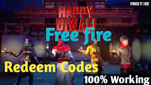 Free fire redeem codes 19th October 2021