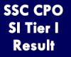 How to Check SSC CPO SI Tier I Result 2021 (Released)